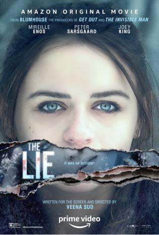 Póster de The Lie, parte de la antología Welcome To The Blumhouse