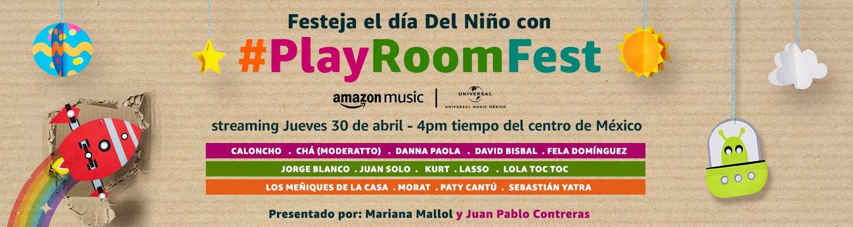 #PlayRoomFest: festival virtual por el Día del Niño.