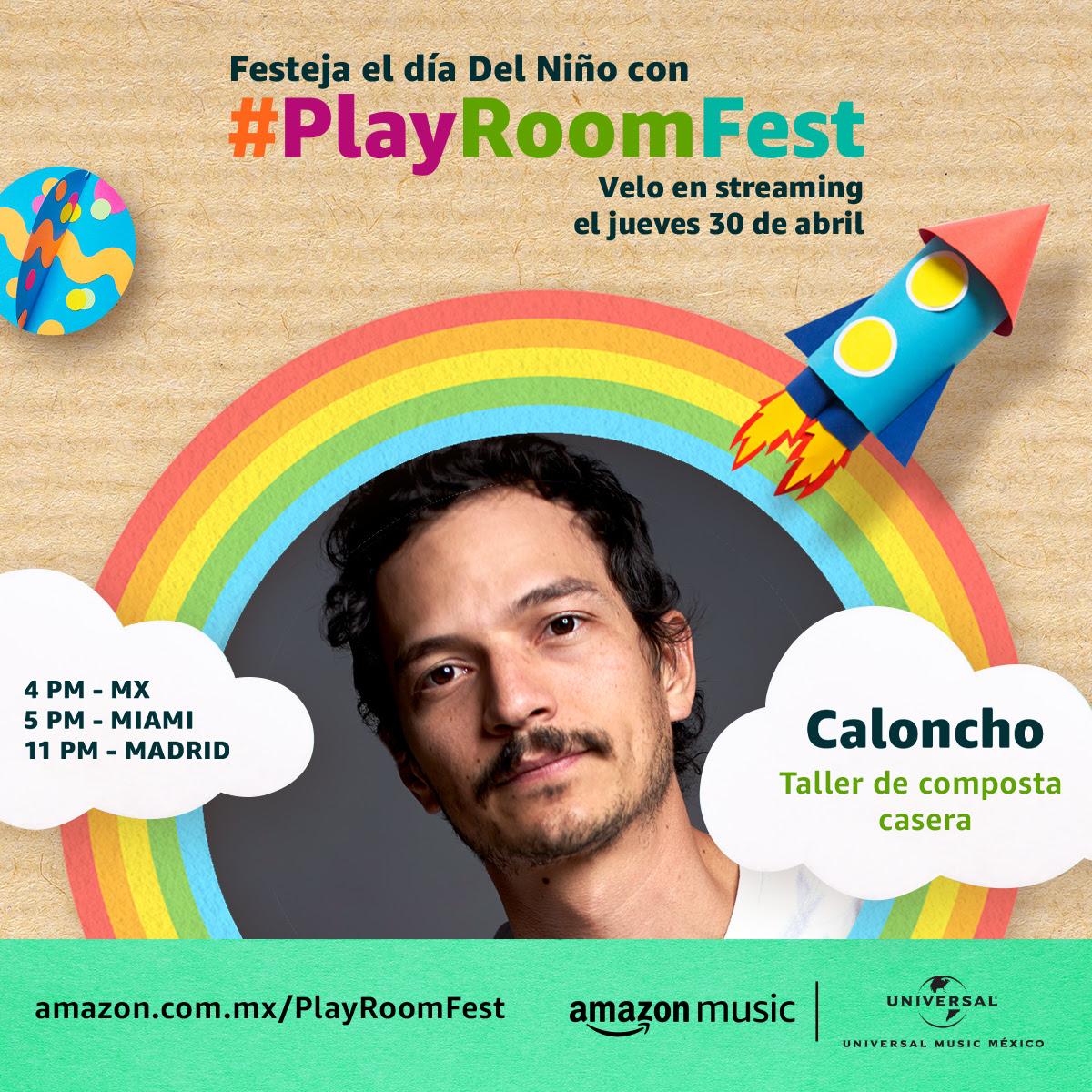 #PlayRoomFest trae a Caloncho y su Taller de composta casera.