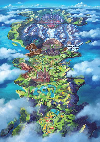 Galar, nueva región para Pokémon