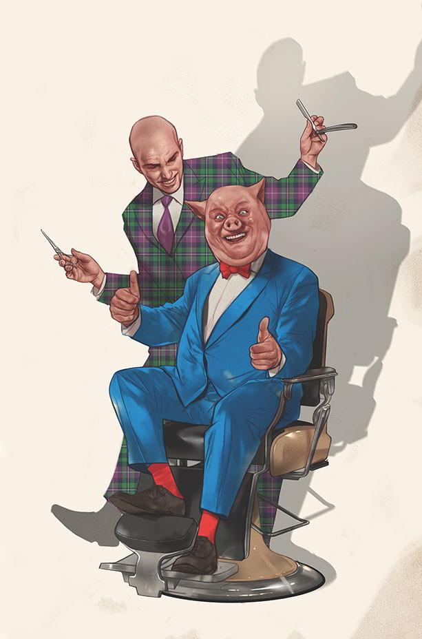 porky lex luthor dc comics