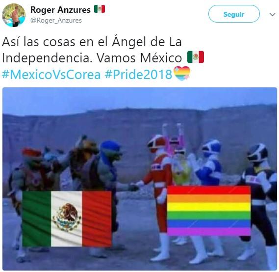 México vs Corea memes