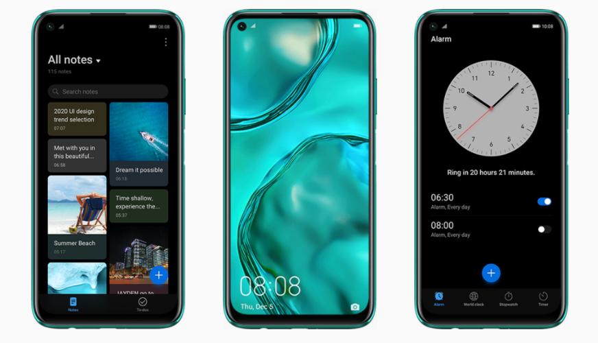 Huawei P40 Lite tiene una de las baterías más poderosas y sigue las tendencias en smartphones 2020.
