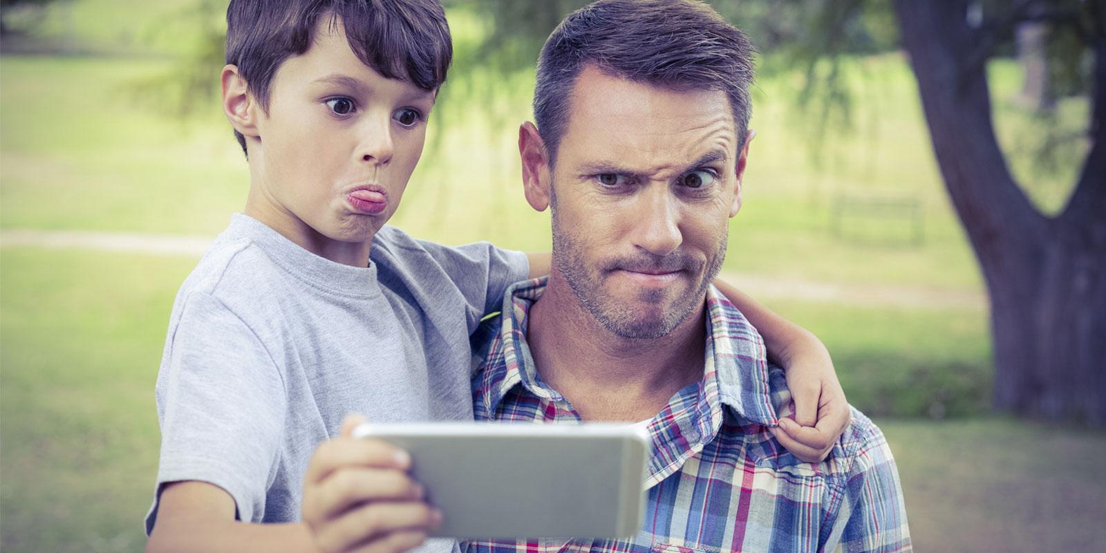 Tecnología y uso de smartphones hacen mejores papás