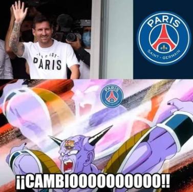 Messi llega al PSG