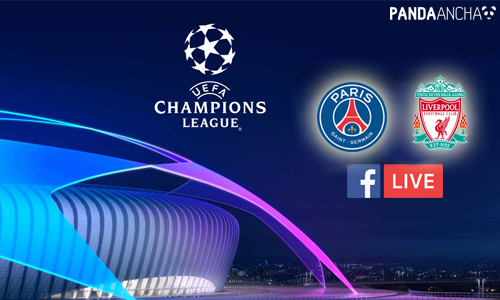 PSG vs Liverpool en vivo por Facebook