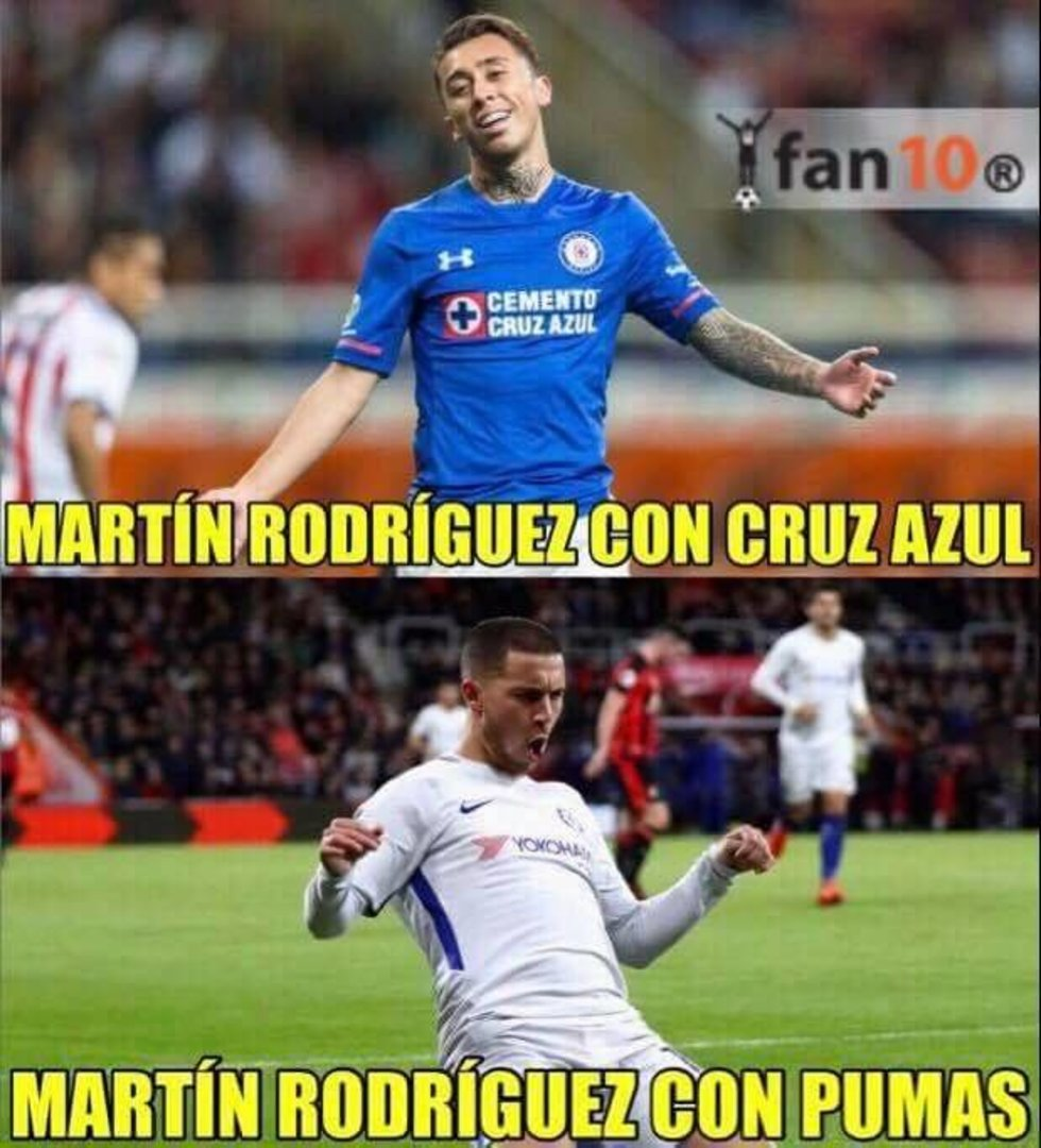Pumas vs Necaxa memes 2018
