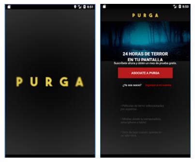 Aplicación de Purga para Android