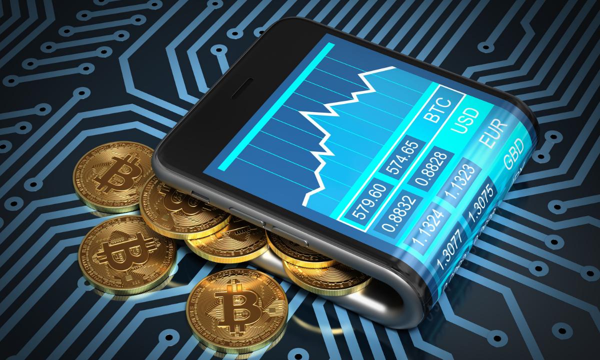 Las Bitcoins se pueden almacenar en una billetera digital en tu teléfono móvil a través de una aplicación