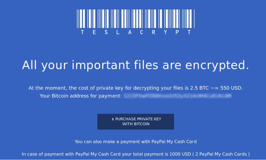 ejemplo de ransomware