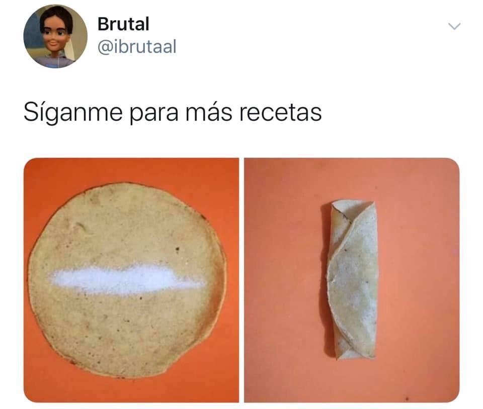 Memes con las mejores recetas