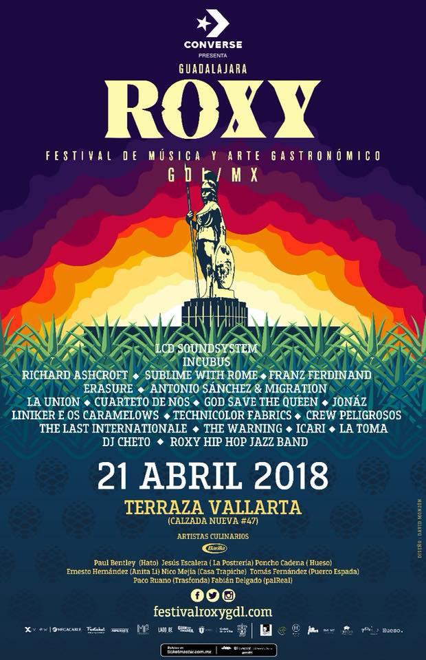 Cartel oficial del festival... por ahora