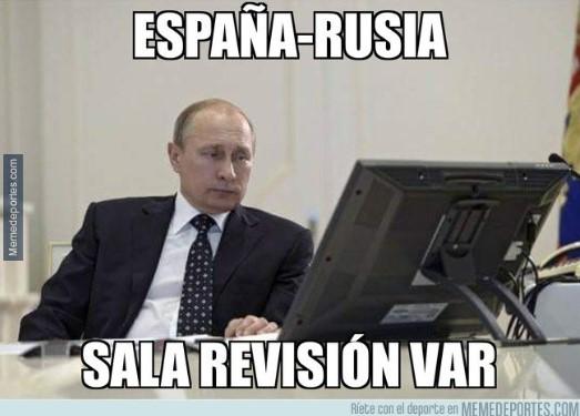 españa vs rusia memes