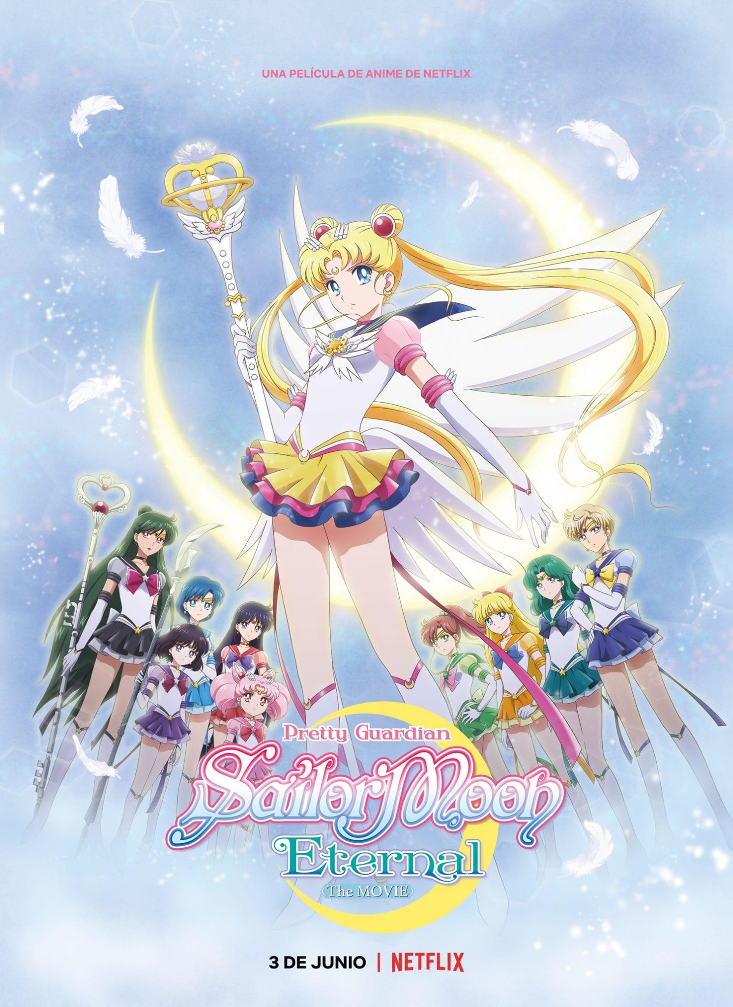 Pretty Guardian Sailor Moon Eternal: La película: Sinopsis, tráiler y galería de personajes