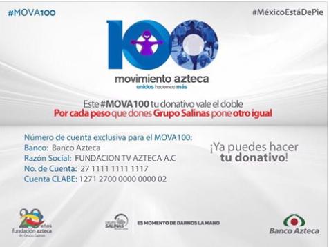 Comunicado ayuda Grupo Salinas