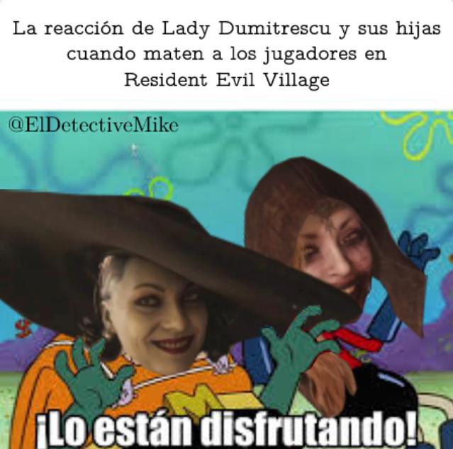 Memes de Resident Evil Village