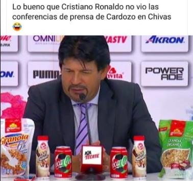 Memes de Cristiano Ronaldo y Coca Cola
