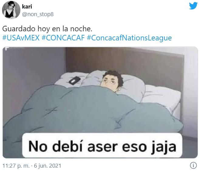 Memes de la final México vs Estados Unidos