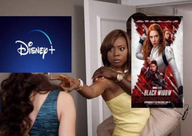 Memes Scarlett Johansson demana a Disney