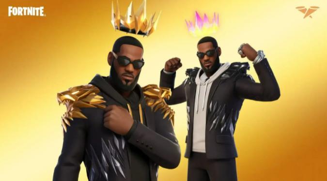 ¡El Rey LeBron llega a Fortnite!