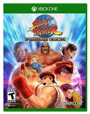 Colección Street Fighter por su 30 Aniversario