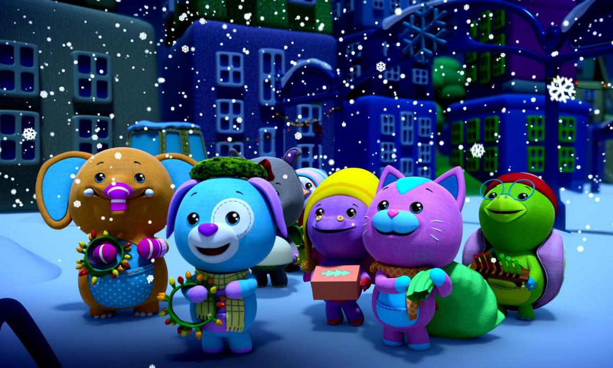 Mundo Wonderoos: ¡Felices fiestas!  Estreno: 24 de noviembre de 2020