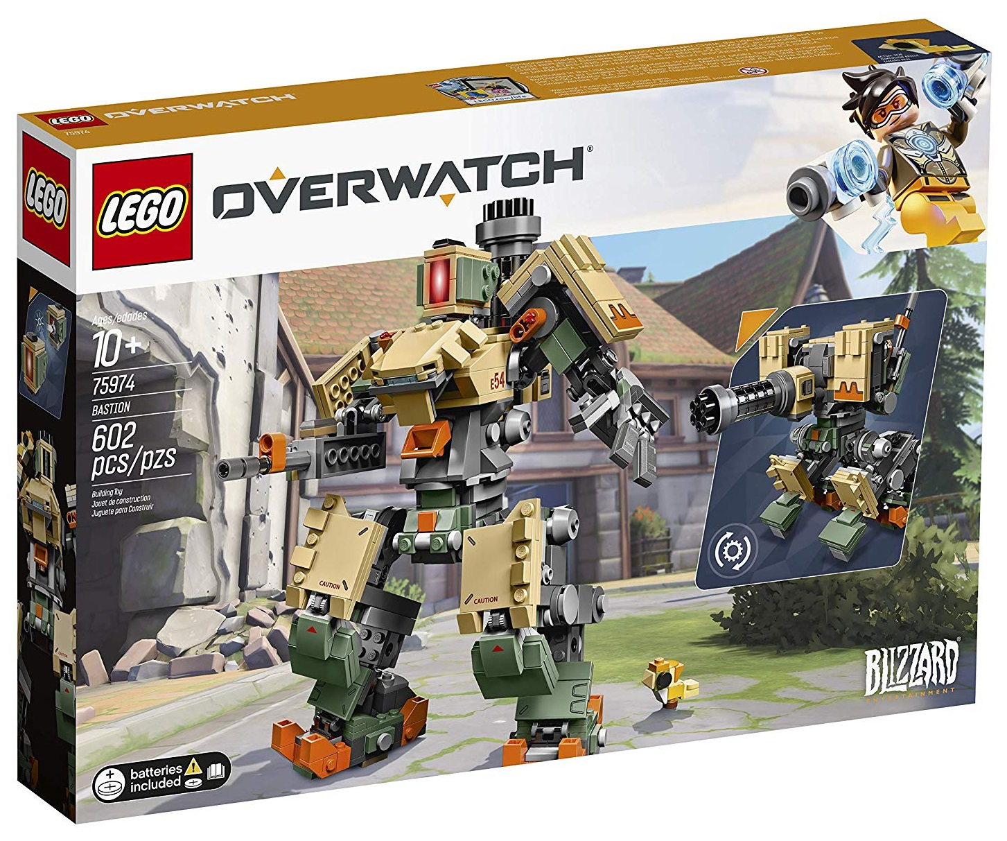 Set Lego de Overwatch: Bastion