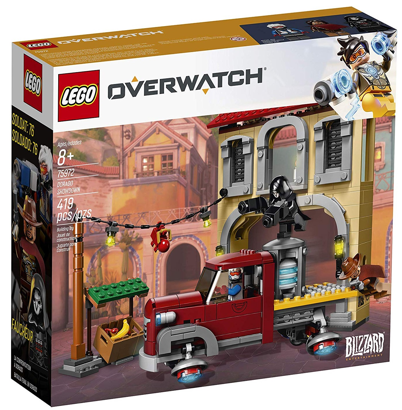 Set Lego de Overwatch: Batalla Final en Dorado