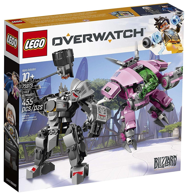 Set Lego de Overwatch: D.Va & Reinhardt