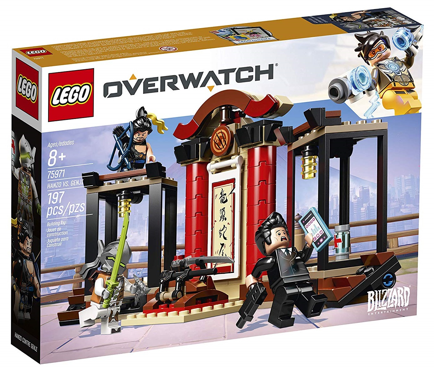 Set Lego de Overwatch: Henzo vs Genji