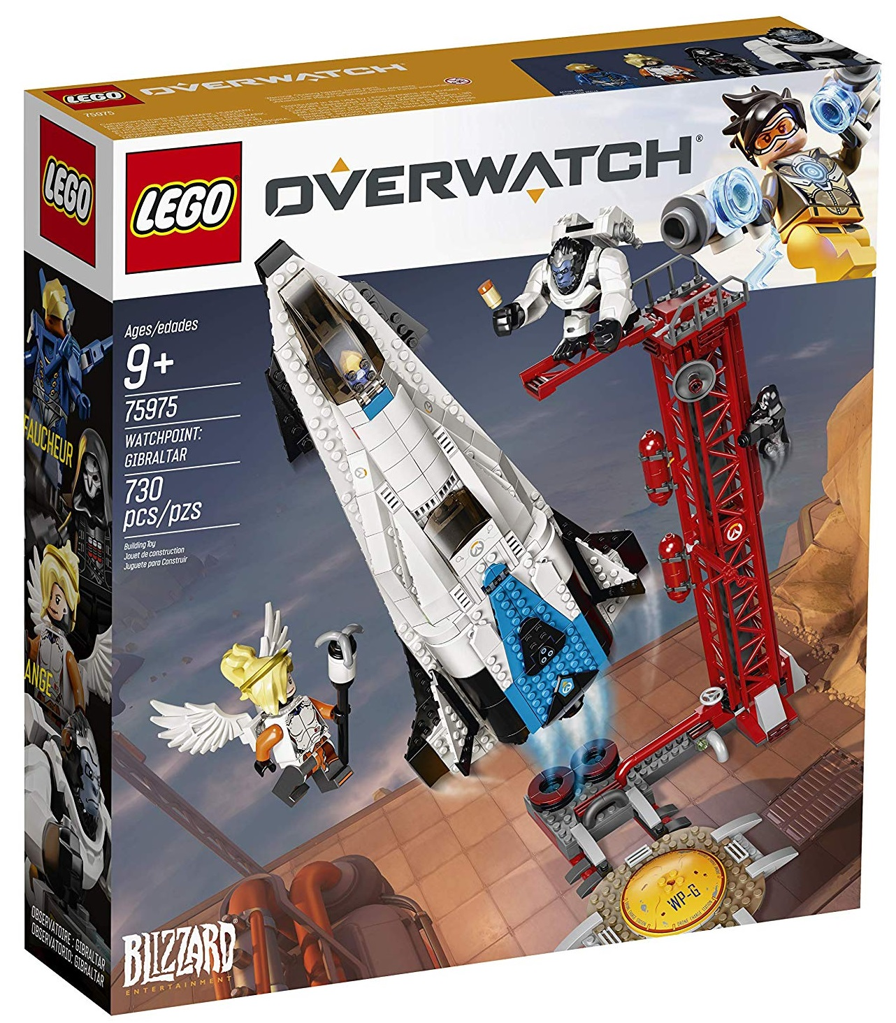 Set Lego de Overwatch: Observatorio Gibraltar