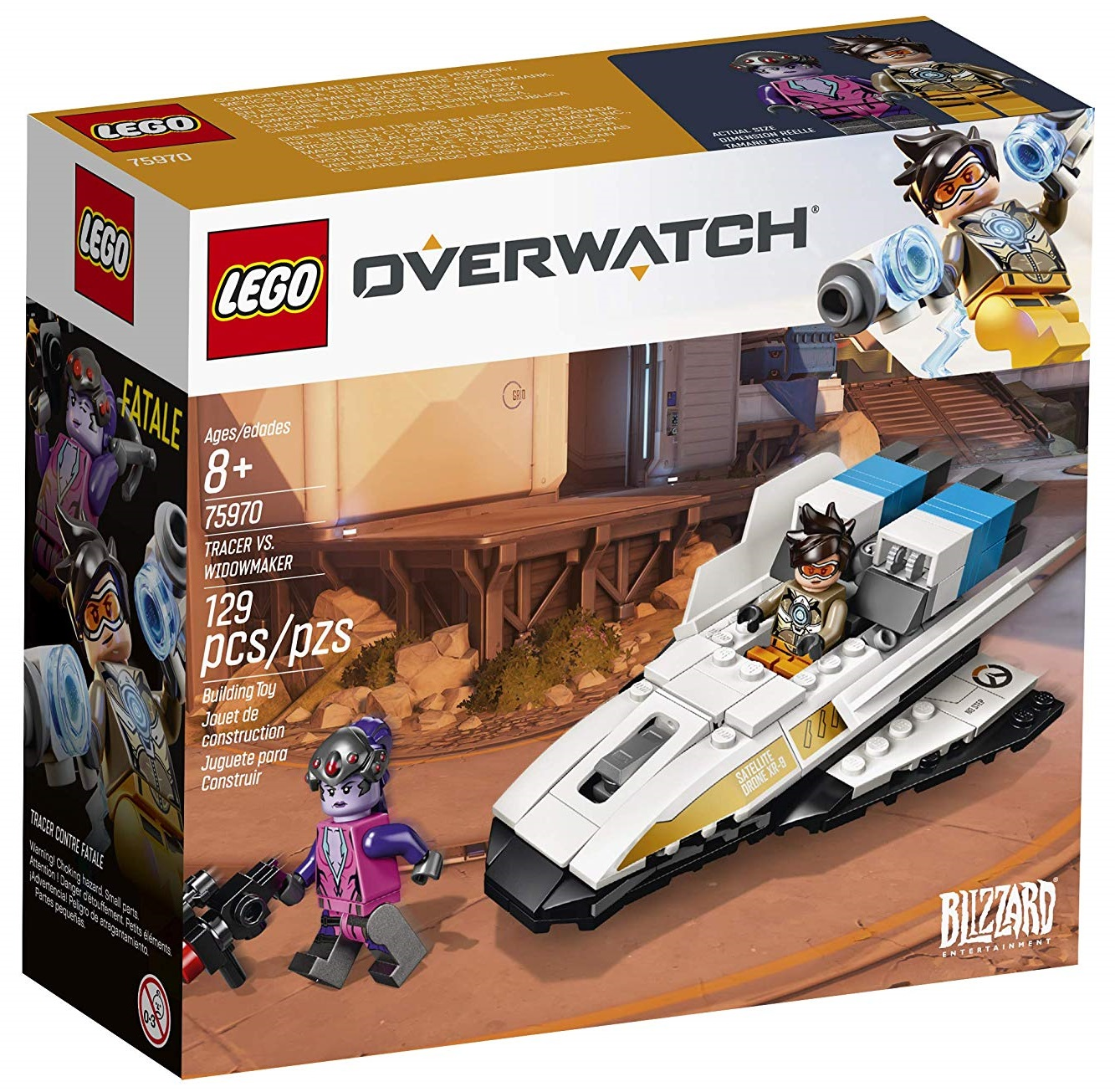 Set Lego de Overwatch: Tracer vs. Widowmaker