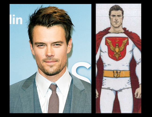 Josh Duhamel es Sheldon Sampson