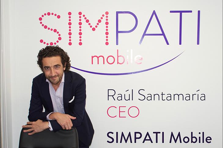 Raúl Santamaría, CEO de Simpati
