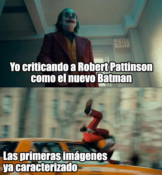 Memes del Batman de Robert Pattinson
