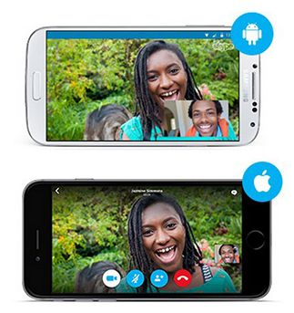 Skype en móvil