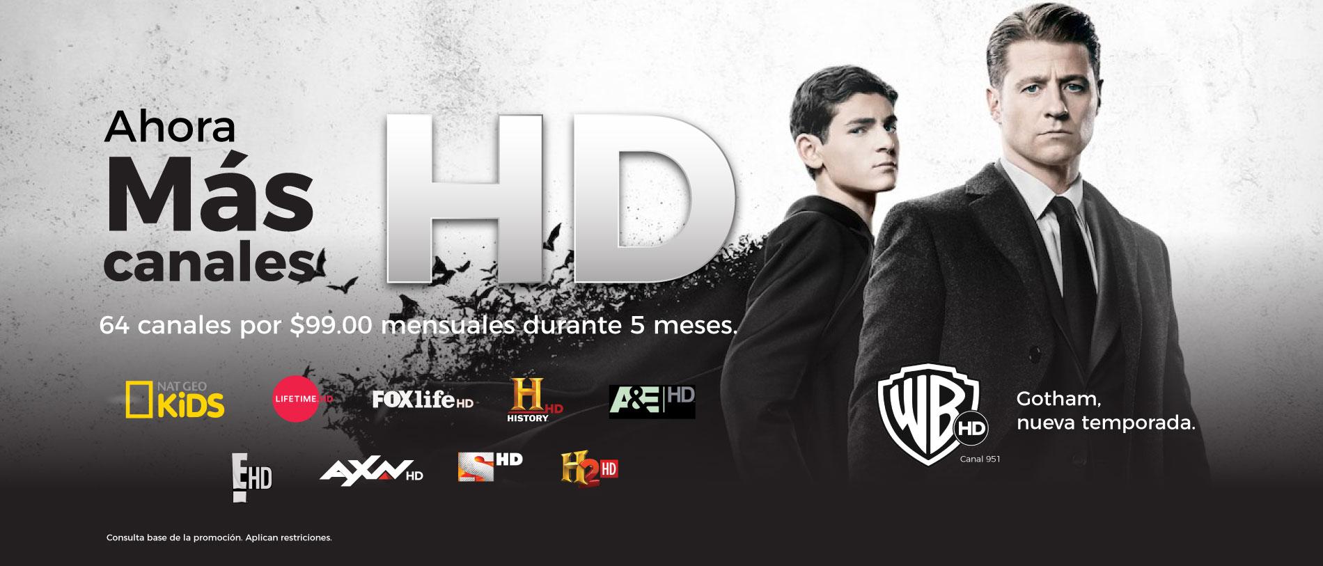 Paquete HD de Gigacable