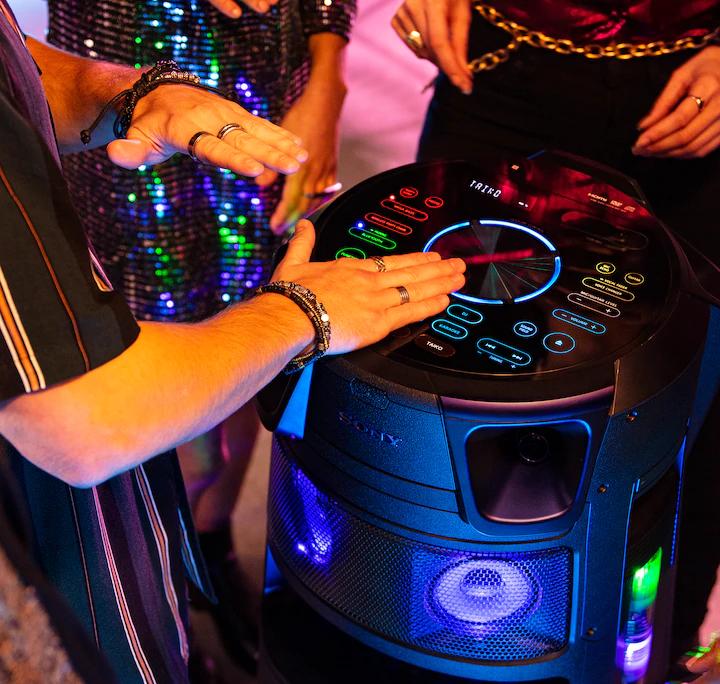 Sony Serie V, modo Taiko para tus fiestas.