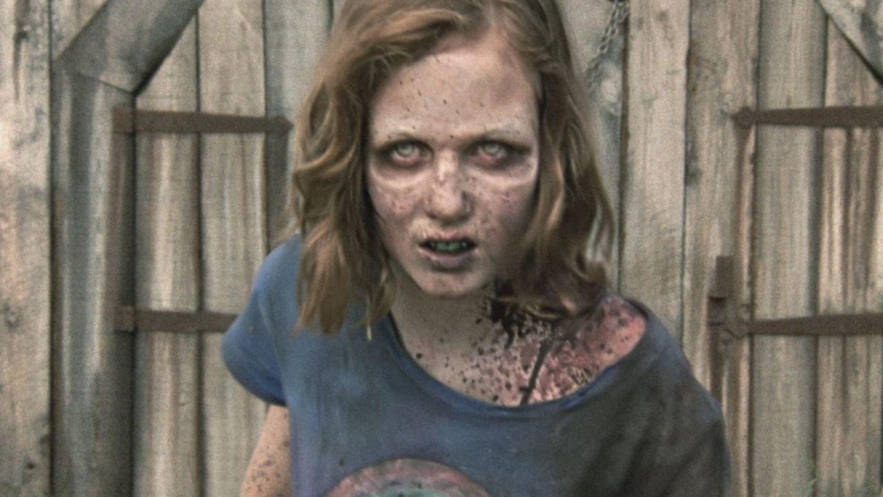 Sophia Peletier como zombie