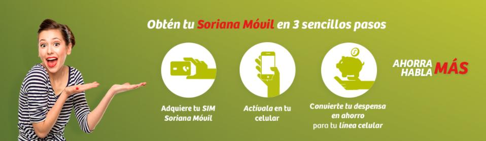 Publicidad web Soriana móvil
