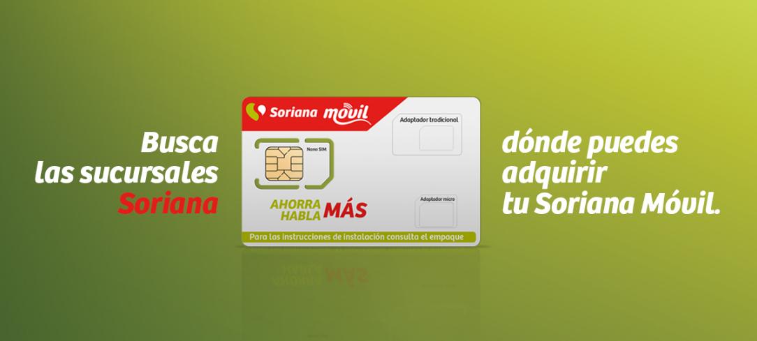 Banner de Soriana móvil