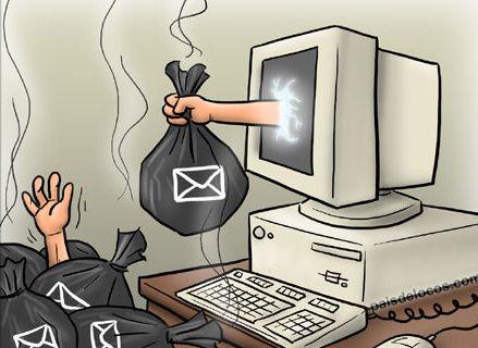 spam en tu computadora