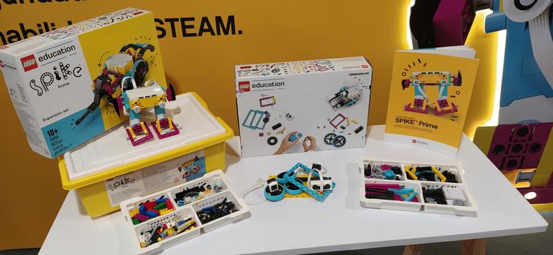 SPIKE Prime, Robotix presenta la nueva solución educativa de LEGO