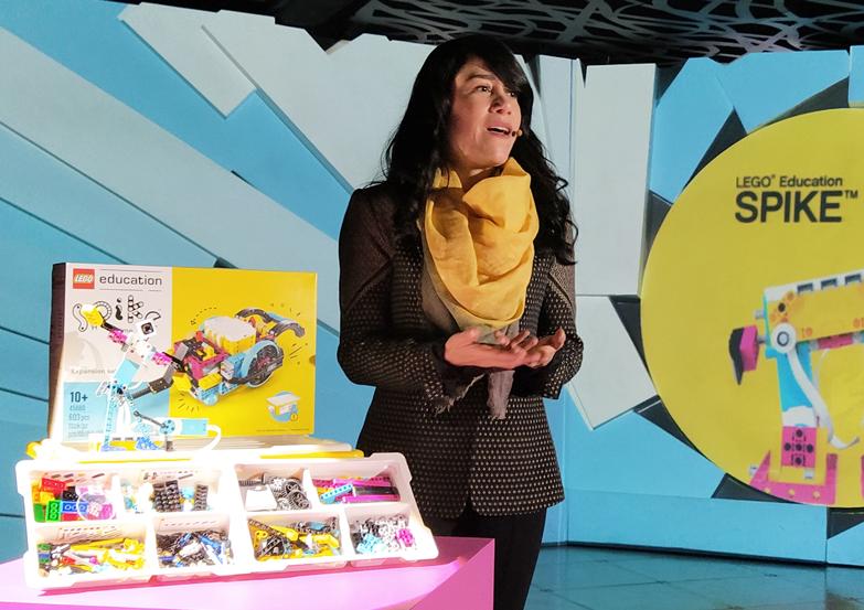 Claudette Muñoz, Gerente Regional de LEGO Education para América Latina