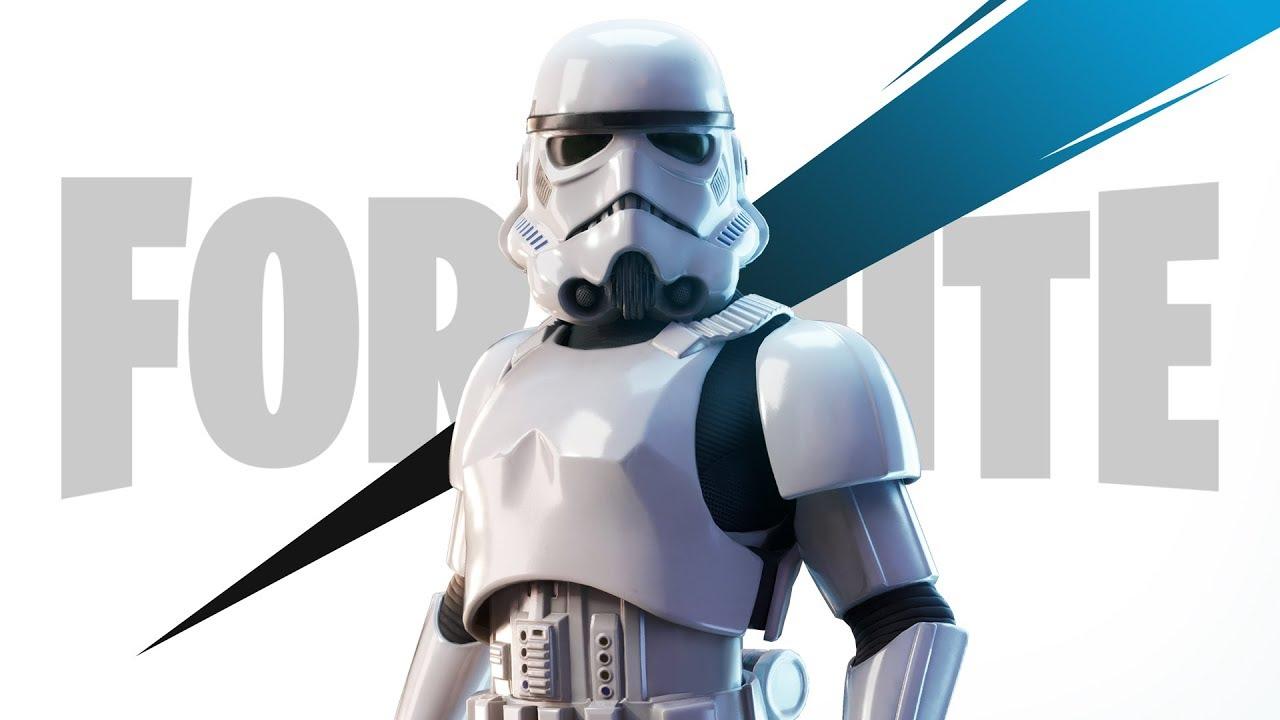 Skin de Stormtrooper de Star Wars en Fortnite