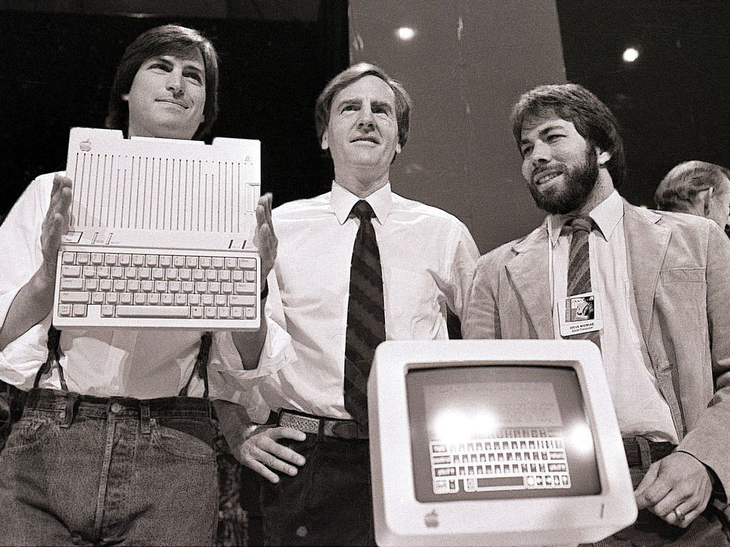 Steve Jobs, Ronald Wayne y Steve Wozniak