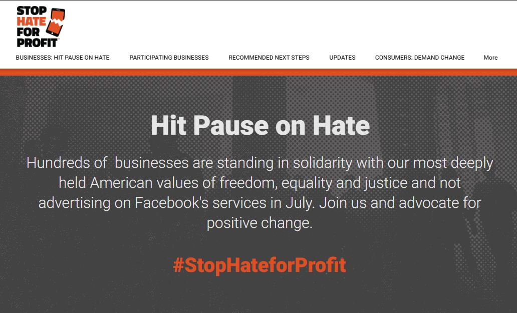 #StopHateProfit: el boicot contra Facebook|PandaAncha.mx