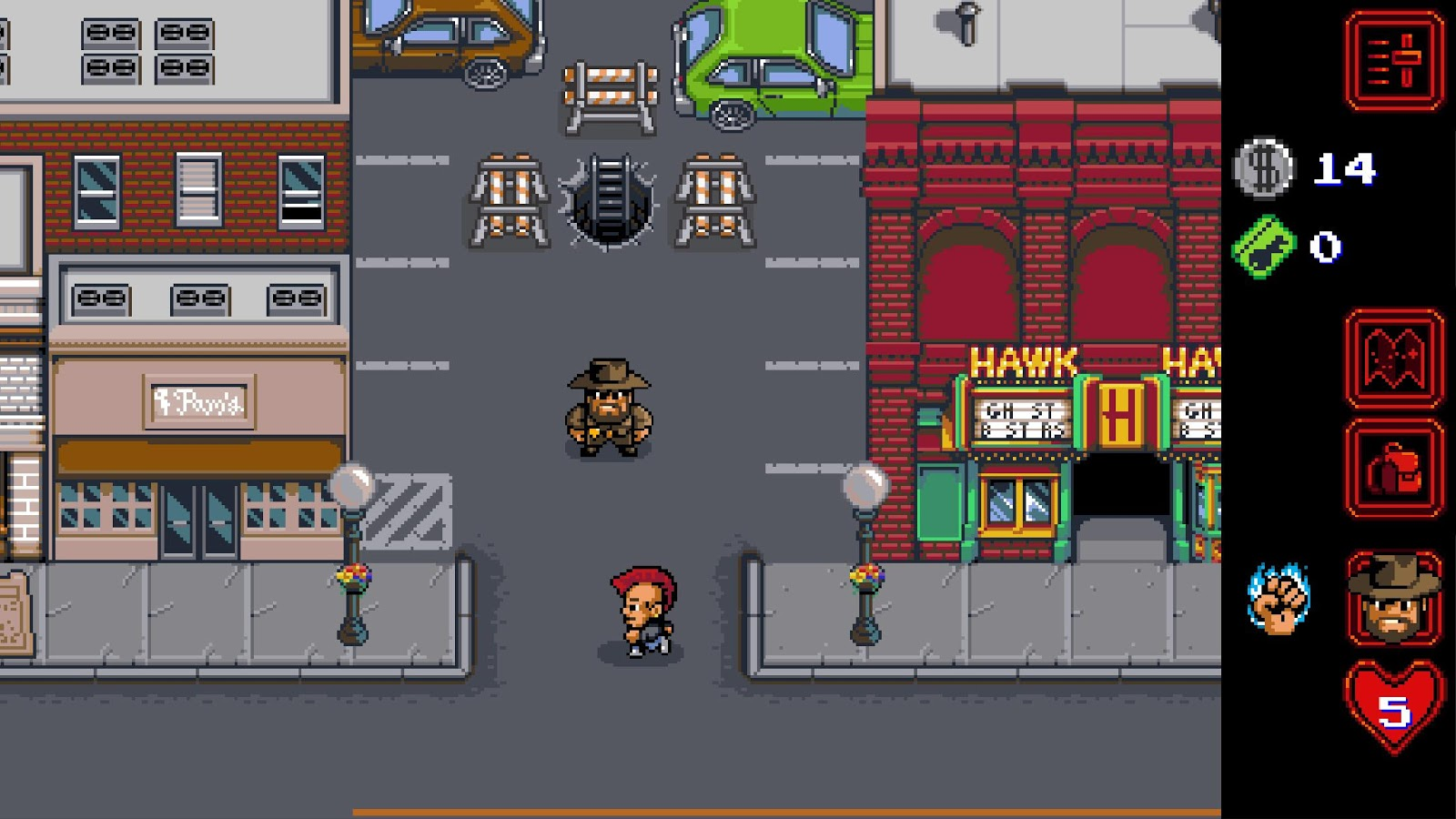 Screenshot de Stranger Things: The Game