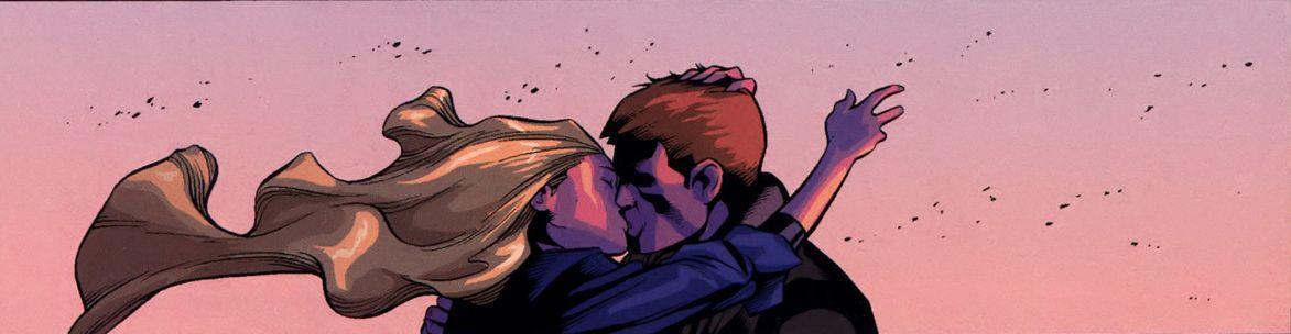 Ben Grimm y Sue Storm juntos