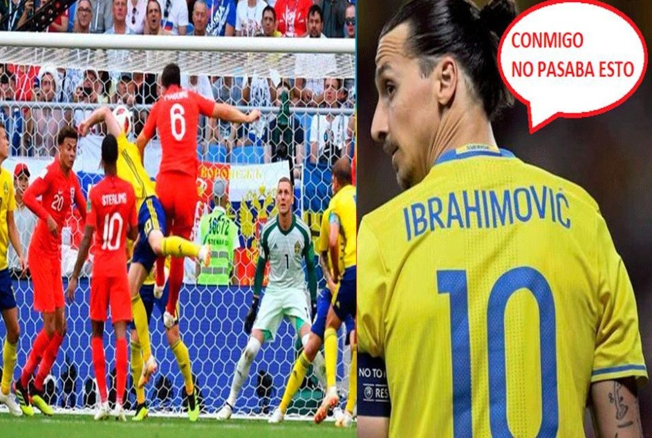 Inglaterra vs Suecia memes